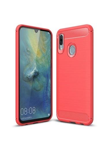Microsonic Huawei P Smart 2019 Kılıf Room Silikon  Kırmızı